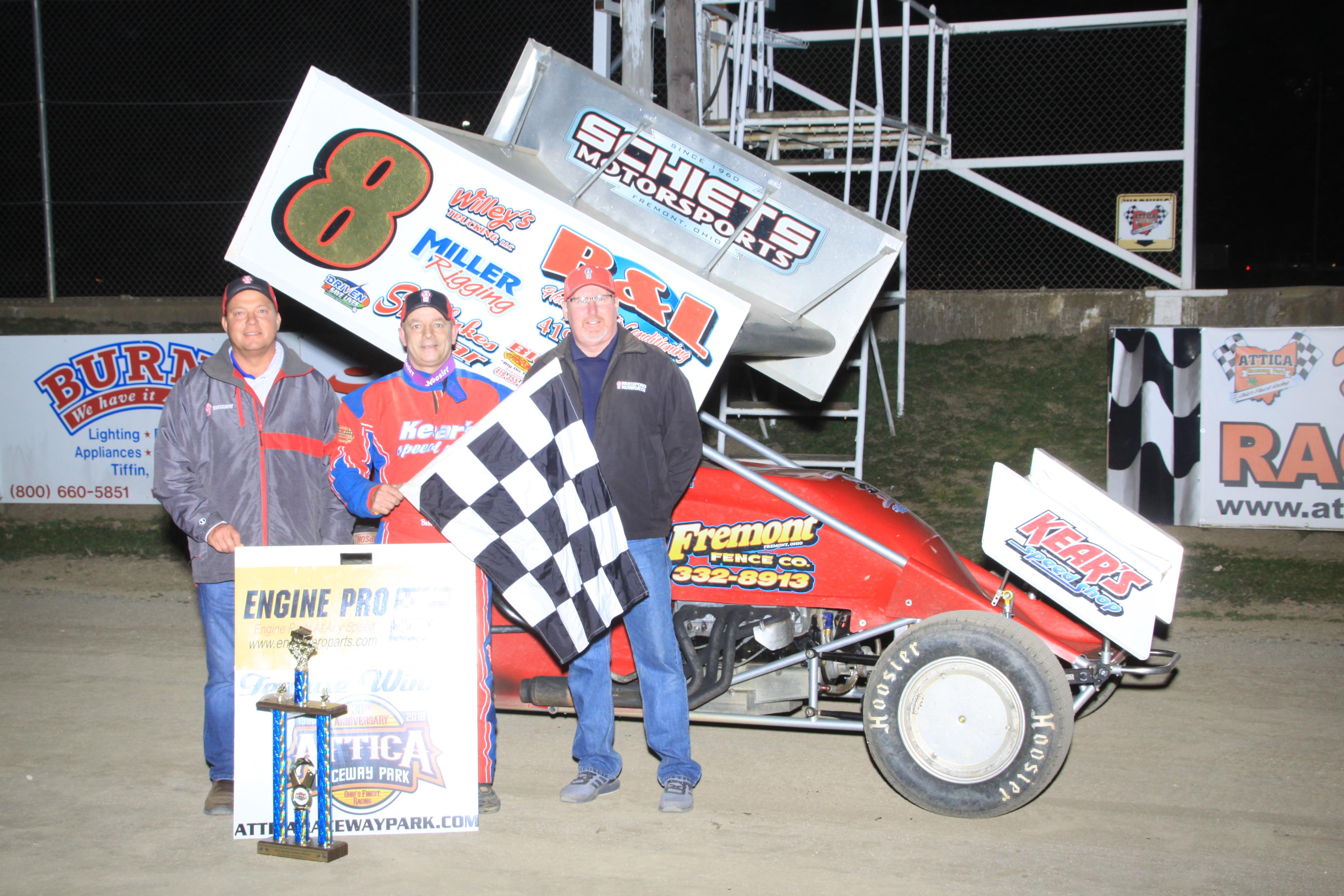 Bobby Clark 305 Sprint feature winner