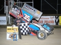410 Sprint Feature Winner Stuart Brubaker