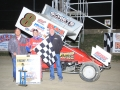 Bobby Clark 305 Sprint feature winner